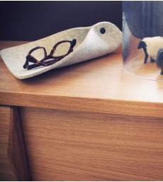 Gédéon - Vide poche en feutre de laine